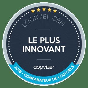 logiciel crm plus innovant 2018
