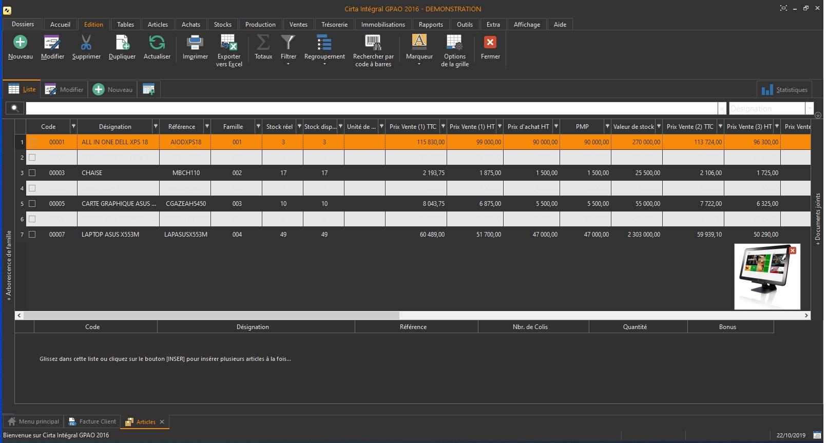 facture - Cirta Express - Devis & Facturation