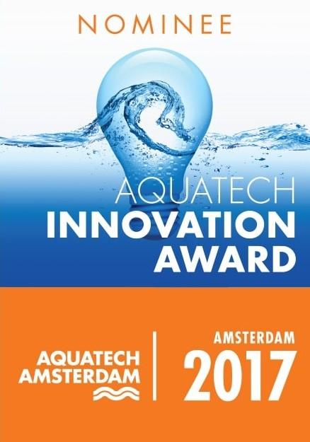 Aquatech Innovation Award - Finescreens - Fijnzeven