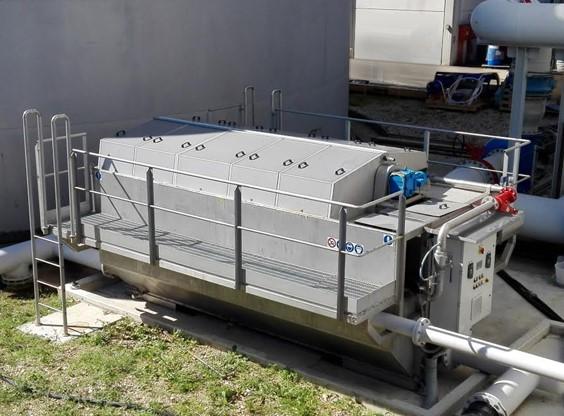 Disc Filter, Schijvenfilter Afvalwater