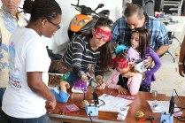 miami maker fair kids soldering photo