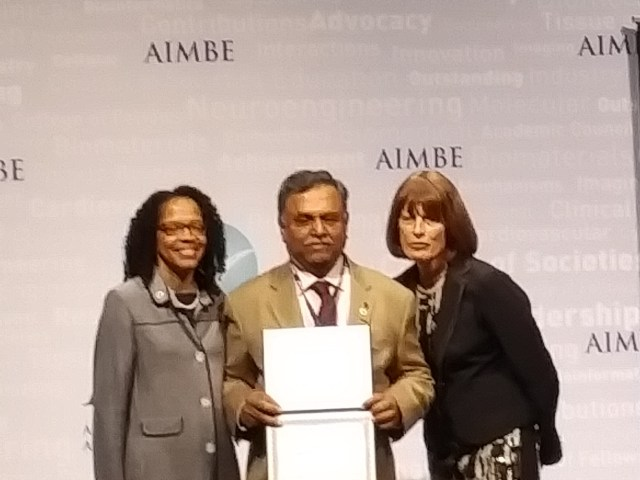Dr. Iyengar inducted into AIMBE
