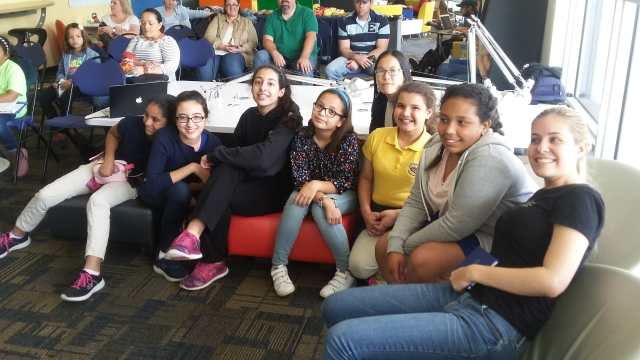 FIU Girls Who Code Club Parents and Community Night | School of Computing and Information Sciences 1