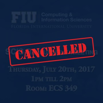 scis recruit meet 7/20/17 CANCELLED
