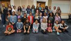 Group photo of FIU Coding Club Hackathon