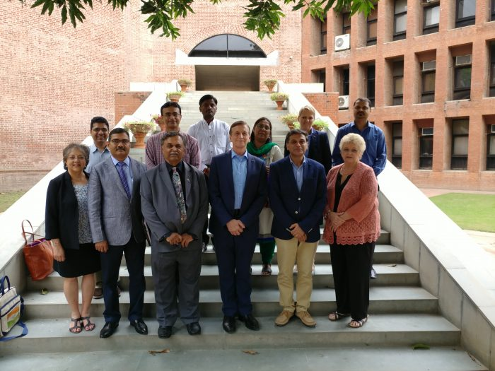 Group photo of the people involved in India's Energy Evolution