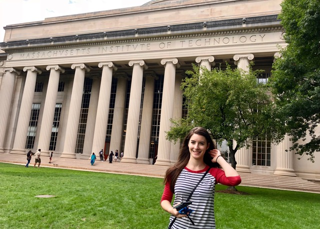 Sheila Alemany at MIT [Intern Story]