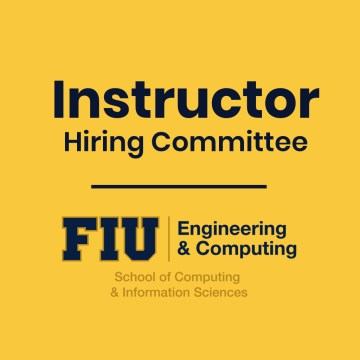 Image of FIU SCIS Instructor Hiring Committee