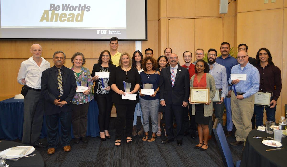 Group photo of SCIS 2019 Award Ceremony Recipients