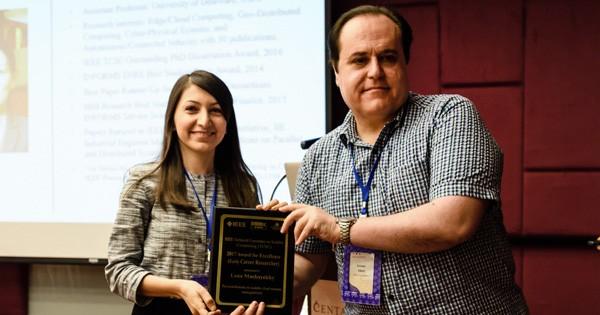 Engineering's Lena Mashayekhy Wins Early Career Award
