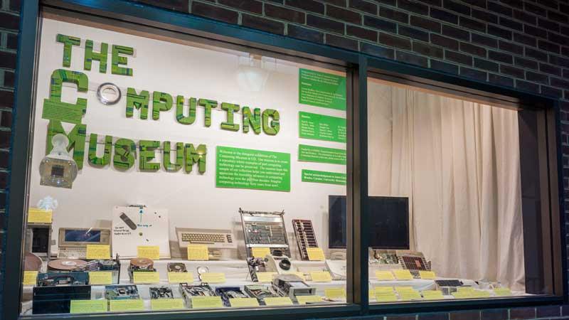 Computing museum exterior