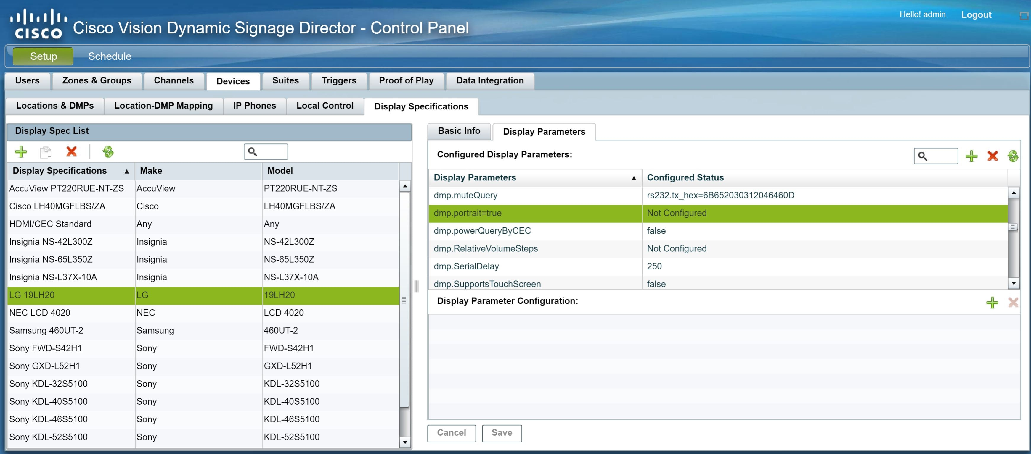 Cisco Vision Dynamic Signage Director Release Notes For Release 6 1