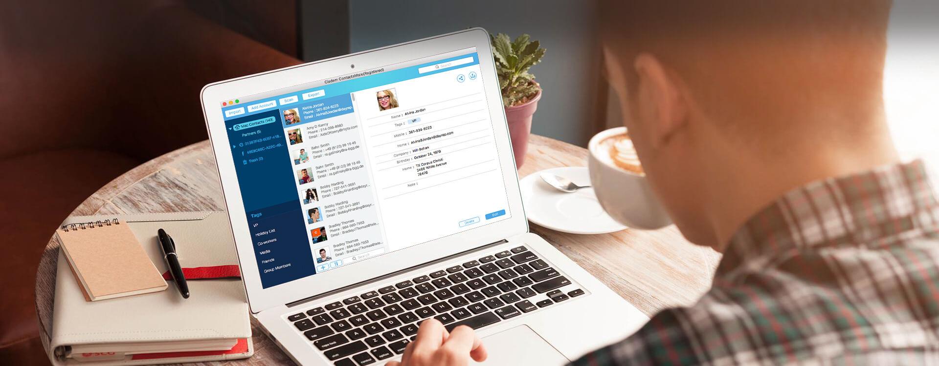 Cisdem ContactsMate 5.7.0 Mac 破解版 - 联系人管理工具