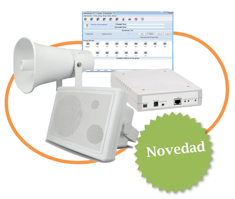 New IP PA systems product line