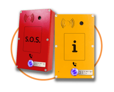Emergency SOS IP-SIP Panphone - intercom IP