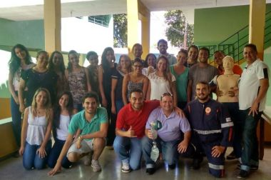 SAMU treina 25 jovens da UDB de Bocaiuva