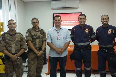 SAMU treina militares para atuarem nos jogos olímpicos na Capital mineira
