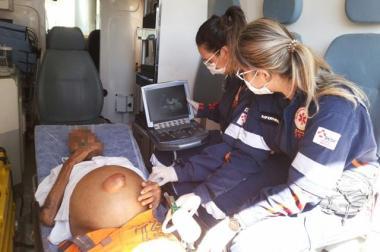 Médica referência em Utrassonografia comanda equipe em ação!