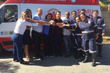 Cisrun entrega mais ambulâncias às bases descentralizadas do SAMU