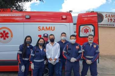 Novas ambulâncias do SAMU Macro Norte já estão sendo entregues