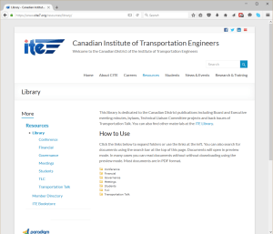 Website Library