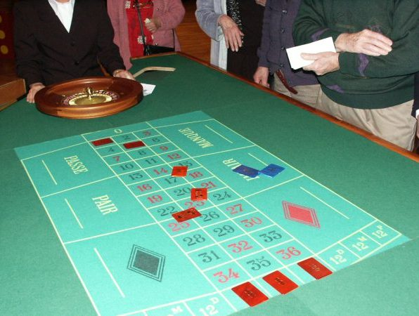 Casino Table roulette