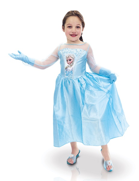 Déguisement Elsa La reine des neiges et accessoires 7 à 8 ans