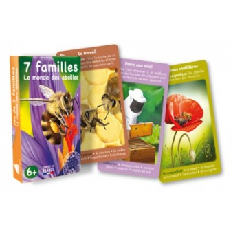 7 familles Le monde des abeilles