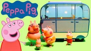Le Camping-car des vacances Peppa Pig