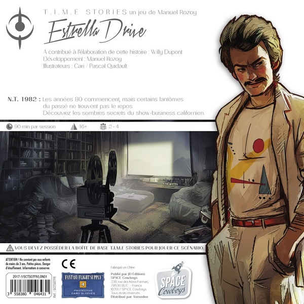 T.I.M.E. Stories extension Estrella Drive