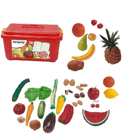 Malette de fruits et légumes Miniland