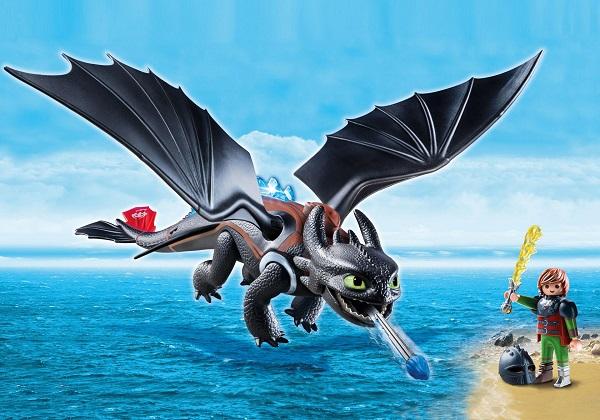 Playmobil Dragons Harold et Krokmou ref 9246