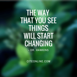 THE WAY THAT YOU SEETHINGSWILL