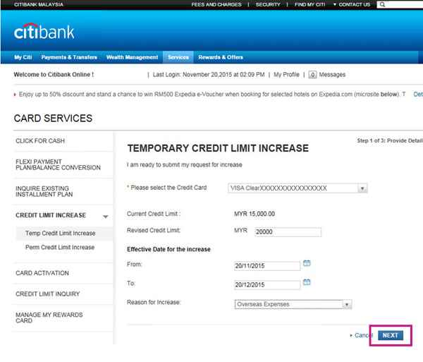 Citibank Government Travel Card Pay Bill Online