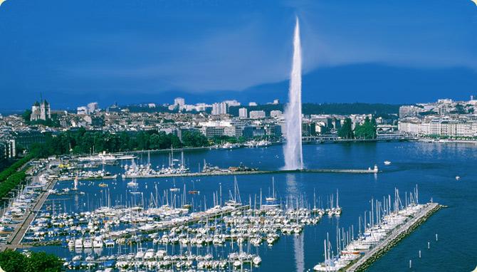 Женева - световната столица на мира - Градовете на Европа