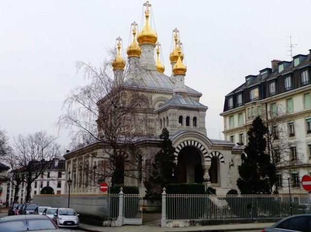 Руската православна църква в Женева