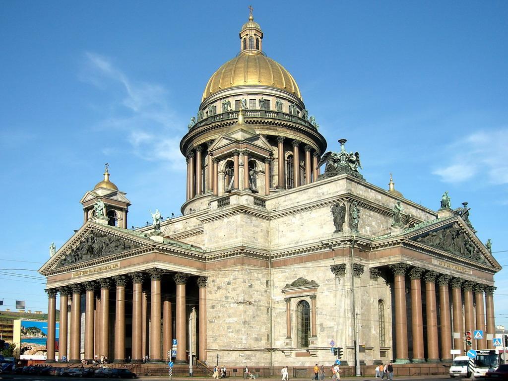 Катедралата Свети Исак - град Санкт Петербург, Русия - Градовете ...