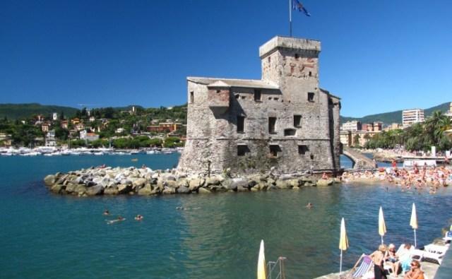 Замъкът в град Рапало