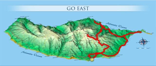 Източно крайбрежие на остров Мадейра