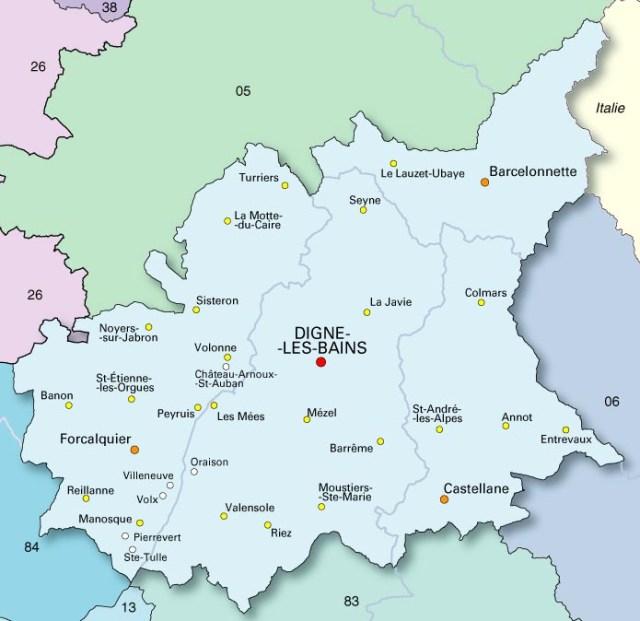 Районът От Прованс