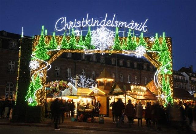 Коледният базар в Страсбург