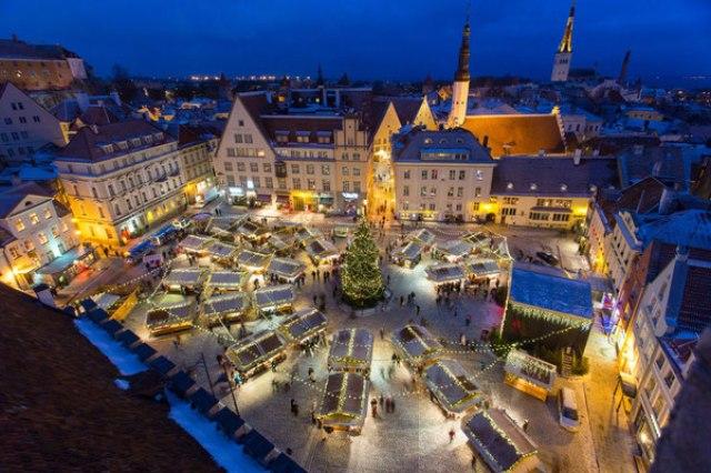 Коледният базар в Талин