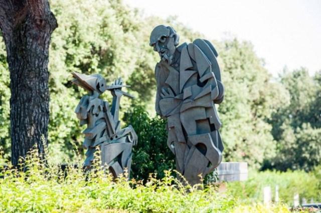 Паркът на Пинокио и Вила Гарцони