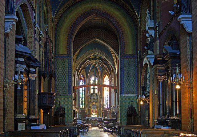 Францисканската църква в Краков