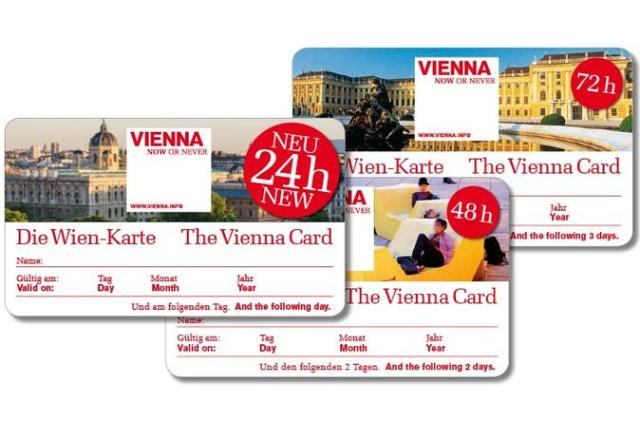 Туристическа карта Vienna City Card