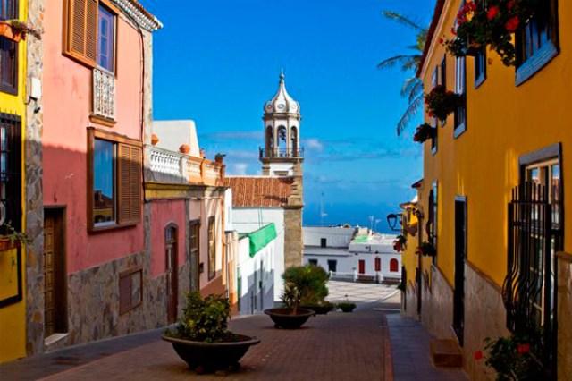 Забележителности в южната част на остров Тенерифе