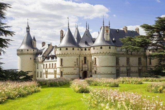 Замъкът Шомон сюр Лоар1