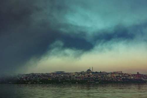 Fog Over the Golden Horn - Istanbul