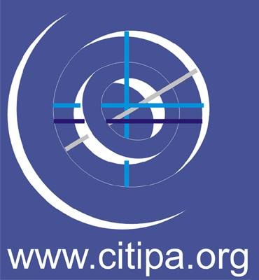 logotipo CITIPA.org fondo azul 370x400