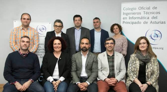 Paulino Álvarez Ondina, nuevo decano de los Graduados e Ingenieros Técnicos en Ingeniería Informática de Asturias